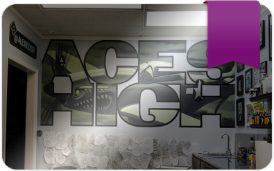 Aces High Tattoo Shop Gift Card